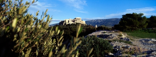 Acropolis as seen from Pnyka